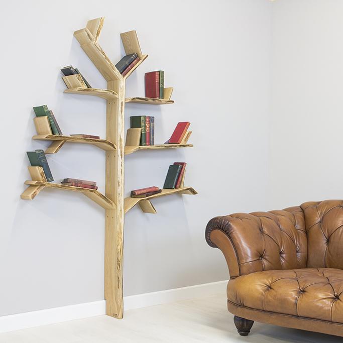 Những mẫu kệ sách đơn giản độc đáo