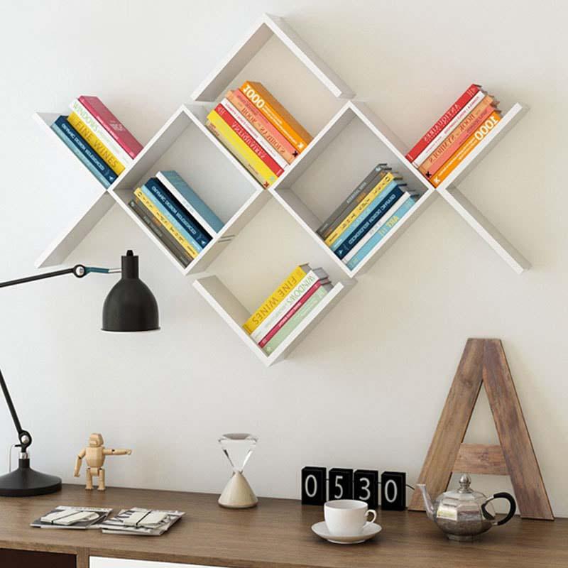 Những mẫu kệ sách treo tường đẹp