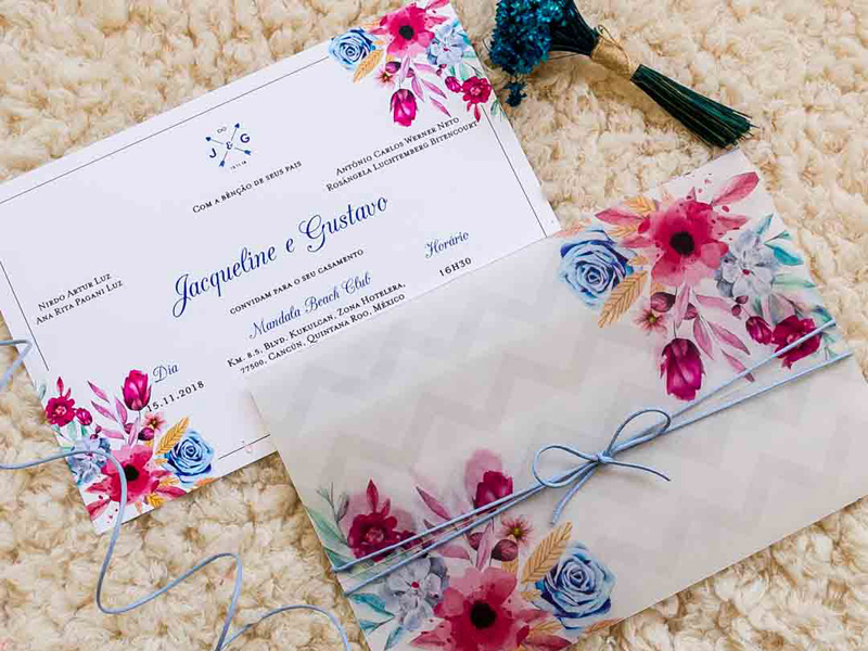 Những mẫu thiệp cưới đẹp và đơn giản