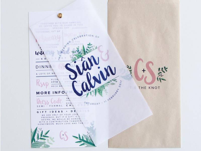 Thiệp cưới đẹp và đơn giản