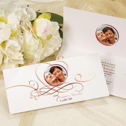 Ý tưởng thiệp cưới đẹp và đơn giản