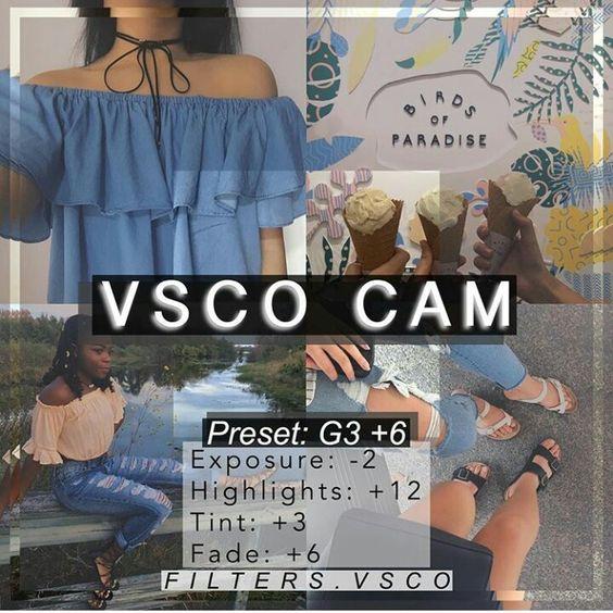 Công thức chỉnh màu VSCO 41