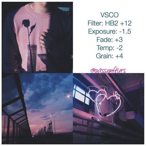 Công thức chỉnh màu VSCO 48
