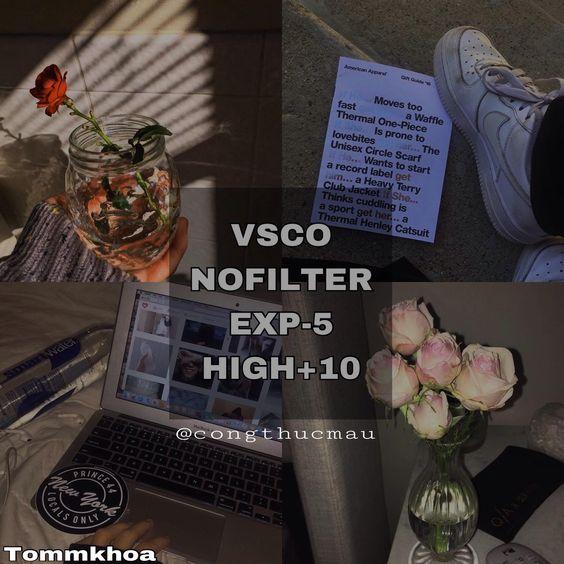 Công thức chỉnh màu VSCO 64