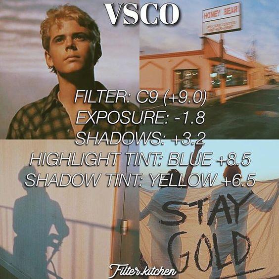 Công thức chỉnh màu VSCO 75