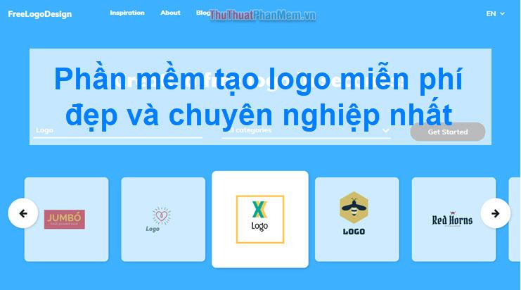 Phần mềm tạo logo miễn phí đẹp và chuyên nghiệp nhất