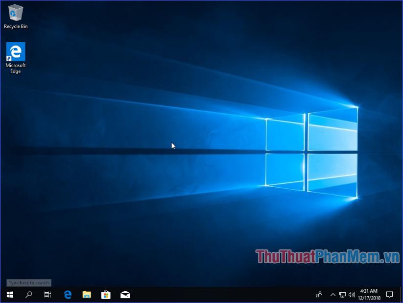 Windows 10 đã sẵn sàng
