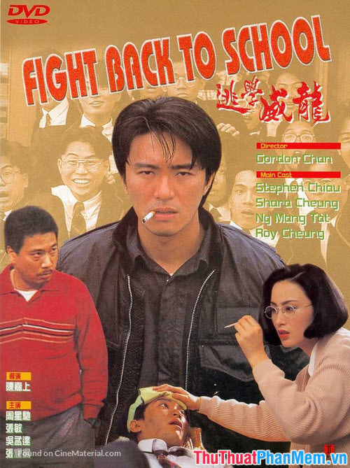 Fight Back to School – Trường học Uy Long (1991)