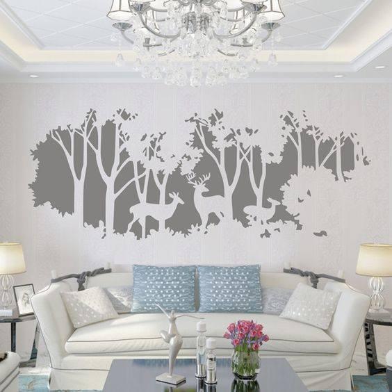 Mẫu tranh tường phòng khách đẹp nhất