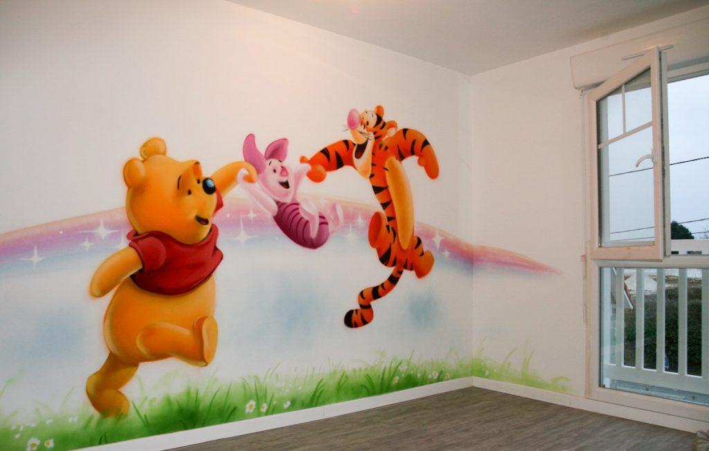 Tranh trường trang trí cho nhà trẻ
