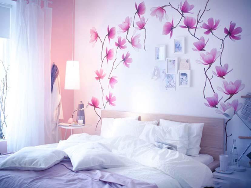 Tranh tường phòng ngủ cực đẹp