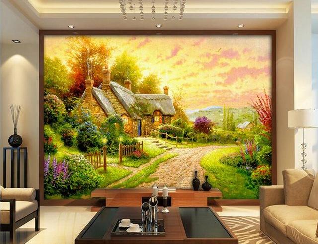 Tranh tường sơn dầu đẹp