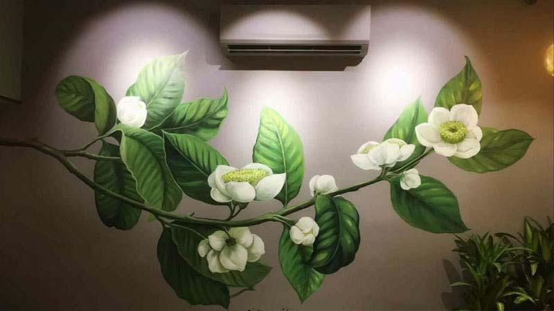 Tranh vẽ tường 3D đẹp