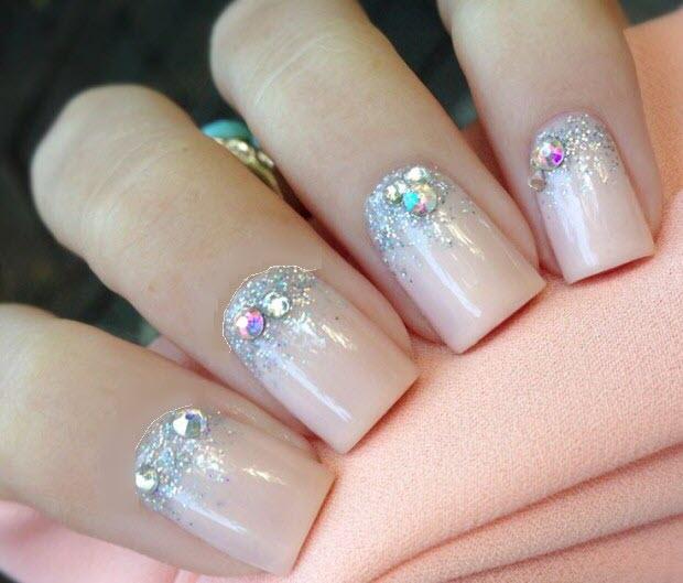 Hình mẫu nail đơn giản đẹp