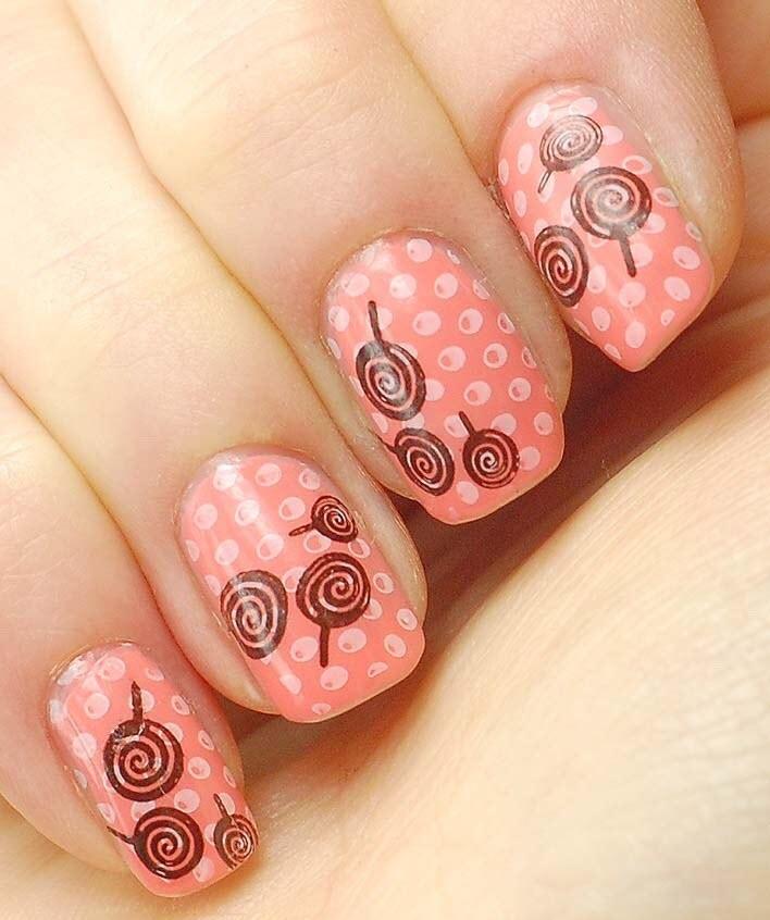 Mẫu nail dễ thương nhất