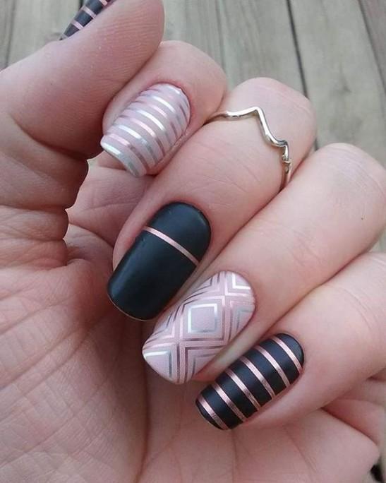 Mẫu nail độc đáo