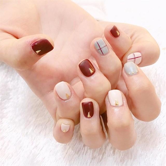Mẫu nail đơn giản cho móng tay ngắn đẹp