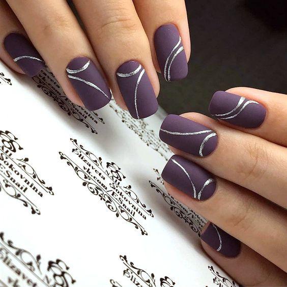 Mẫu nail đơn giản mà đẹp