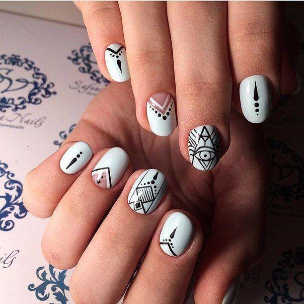 Mẫu nail móng tay ngắn đẹp