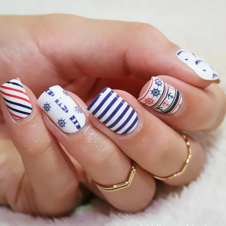 Những mẫu nail đơn giản