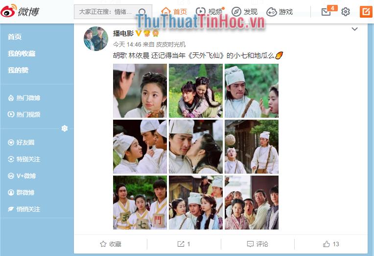 Hoàn tất quá trình đăng kí tài khoản Weibo