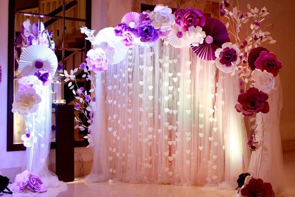 Backdrop chụp ảnh đám cưới