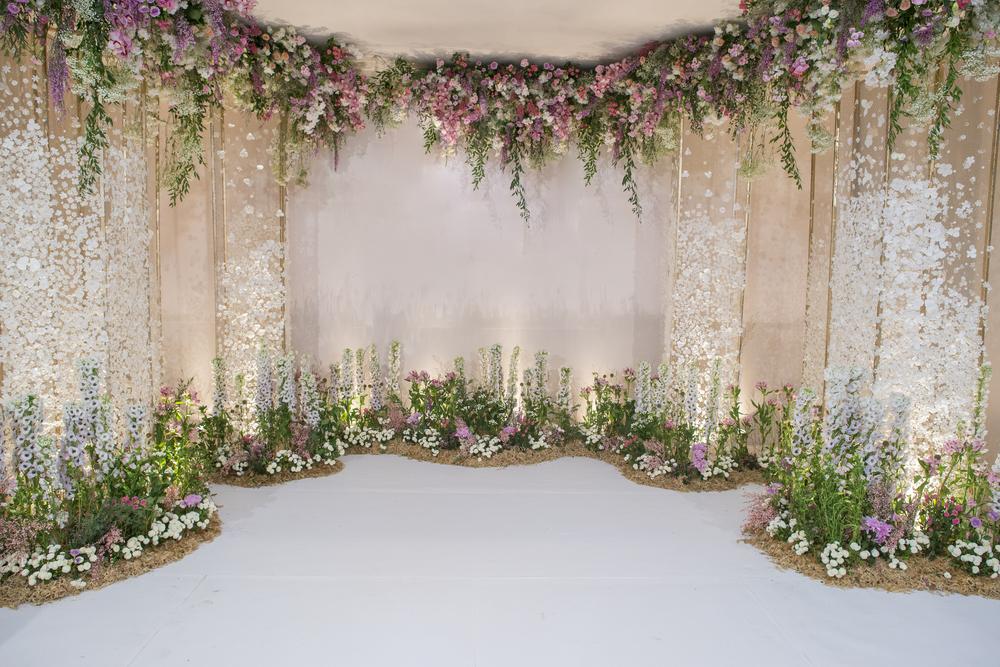 Backdrop đẹp dành cho đám cưới