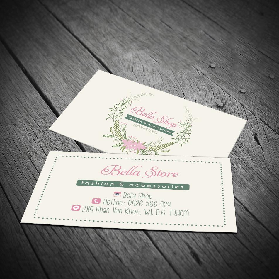 Mẫu card visit cá nhân thiết kế đẹp