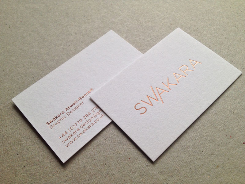 Mẫu card visit đẹp và đơn giản cho doanh nhân
