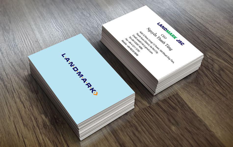 Mẫu card visit lịch sự, chuyên nghiệp và sang trọng