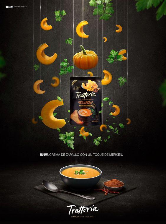 Mẫu tờ rơi quảng cáo món súp