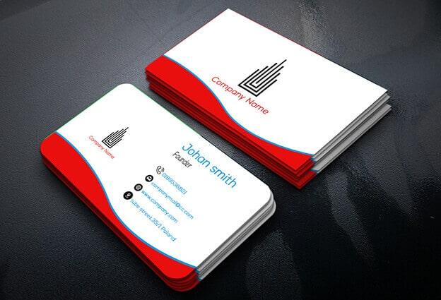 Những mẫu card visit thiết kế đẹp và đơn giản