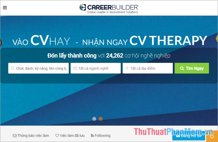 Website Careerbuilder.vn