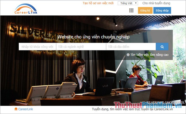 Website Careerlink.vn