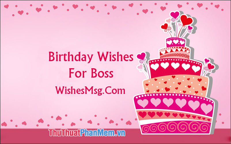 Câu chúc mừng sinh nhật Sếp bằng Tiếng Việt - 2