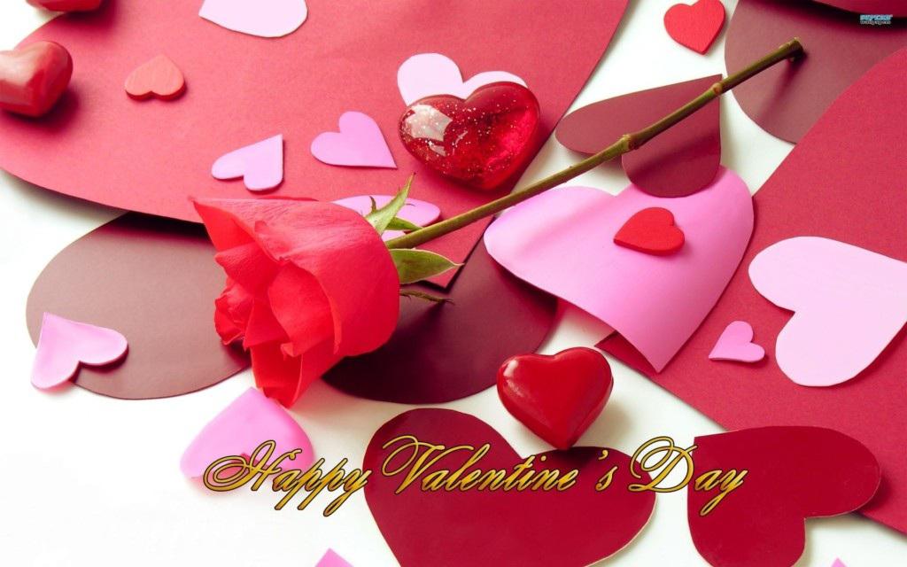 Hình ảnh chúc 14 -2 Valentine lãng mạn tới người yêu