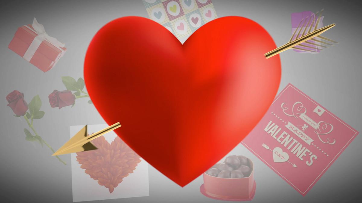 Hình ảnh Valentine đẹp và lãng mạn cho cảm xúc đong đầy