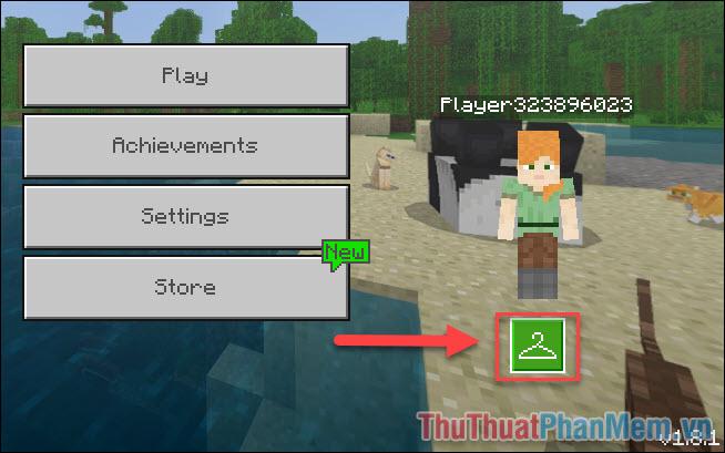 Thêm skin vào game Minecraft (1)