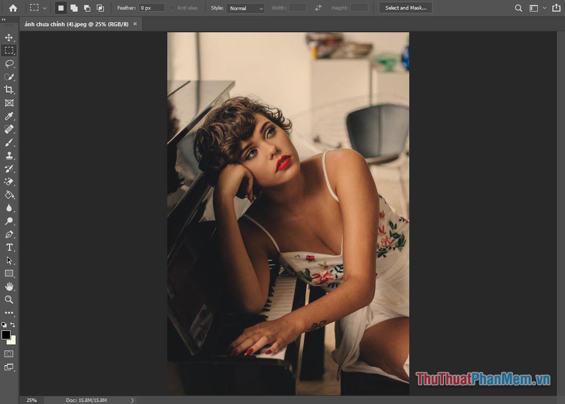 Cách tạo Action trong Photoshop (2)