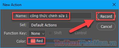 Cách tạo Action trong Photoshop (5)