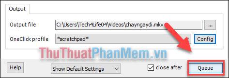 Cách xuất video (encode video) trong Aegisub bằng phần mền MeGui (9)