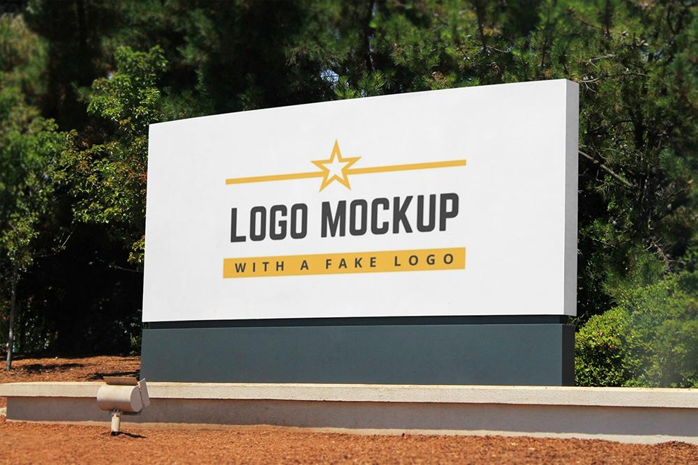 Mẫu bảng hiệu công ty sang trọng