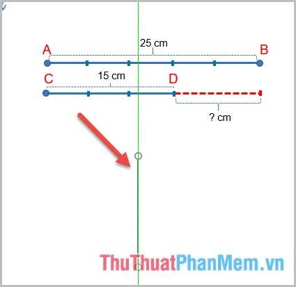 Nhấn giữ phím Shift trong quá trình vẽ để đường thẳng không bị lệch