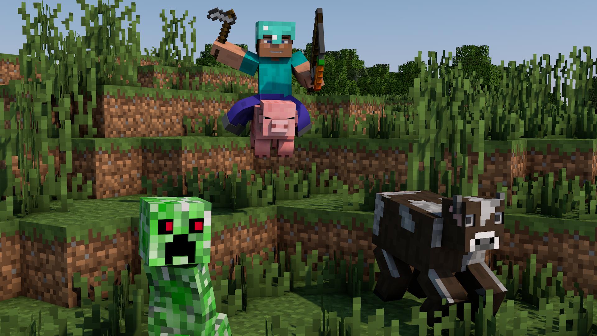 Hình nền động vật Minecraft