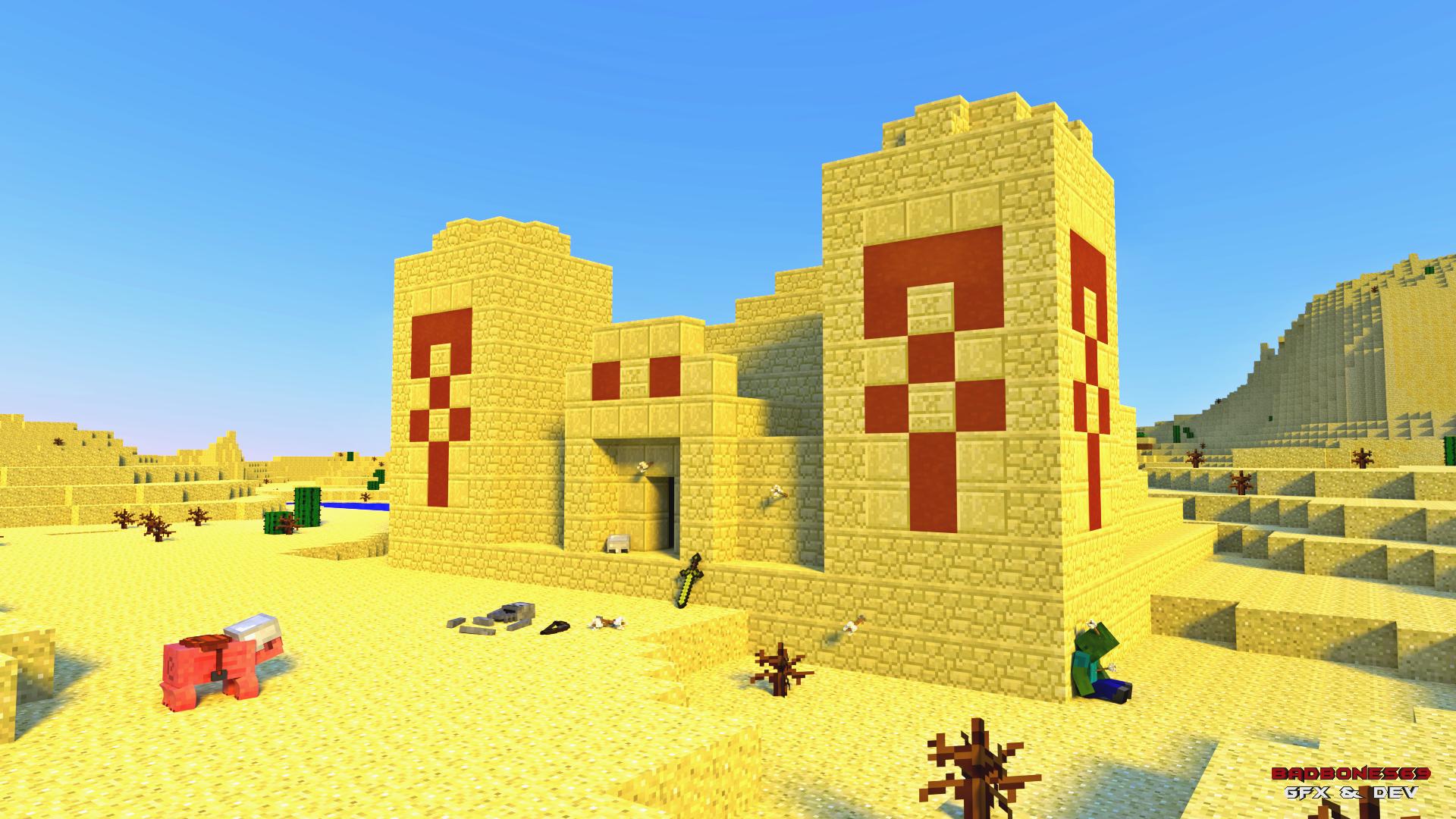 Hình nền lăng mộ Minecraft