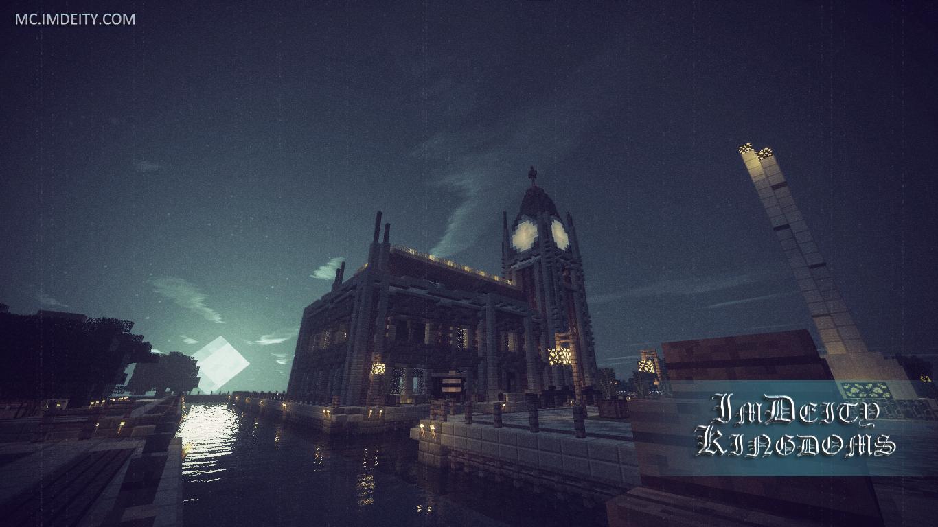 Hình nền lâu đài Minecraft
