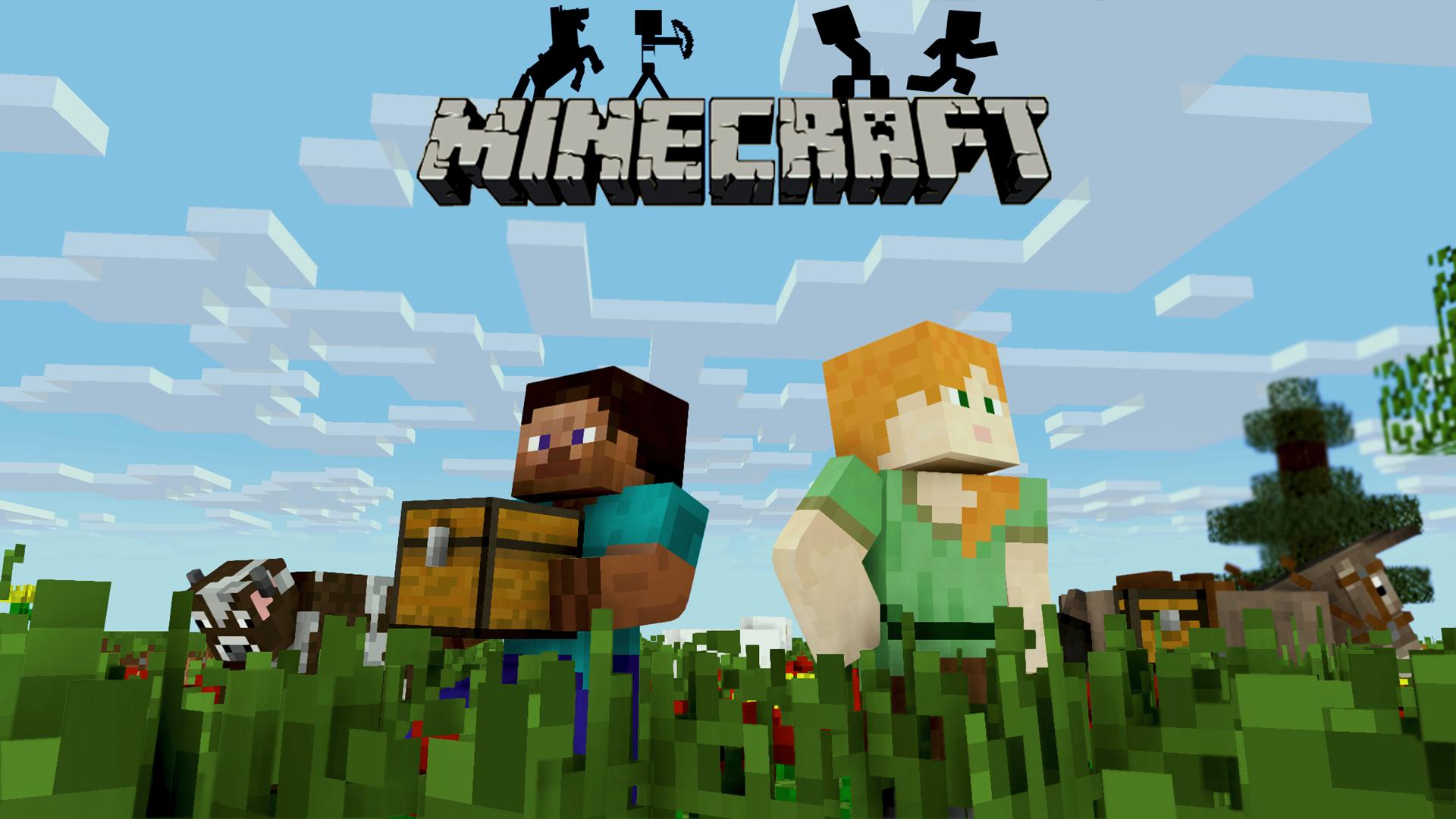 Hình nền Minecraft nhân vật