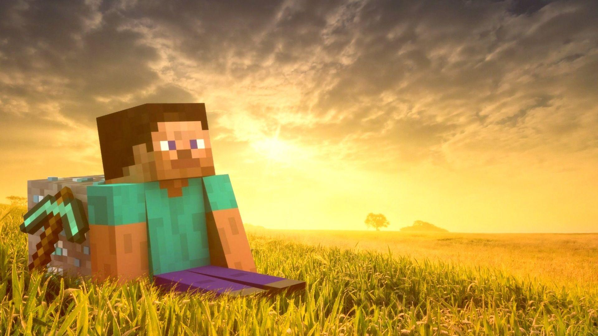 Hình nền nhân vật Minecraft
