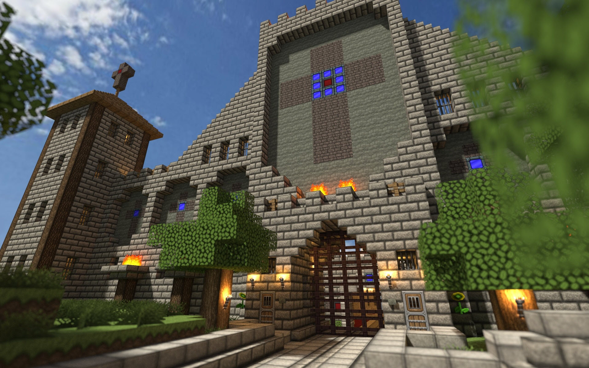 Lâu đài trong Minecraft