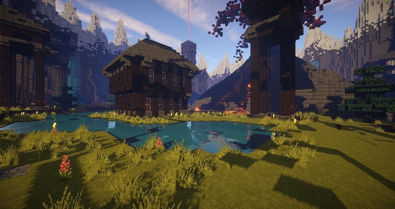 Ảnh cảnh đẹp Minecraft